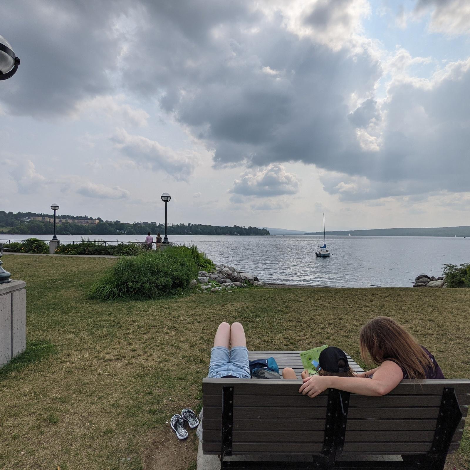 On profite du RNP pour visiter certains coins du Québec, comme Lac Mégantic! #rnp