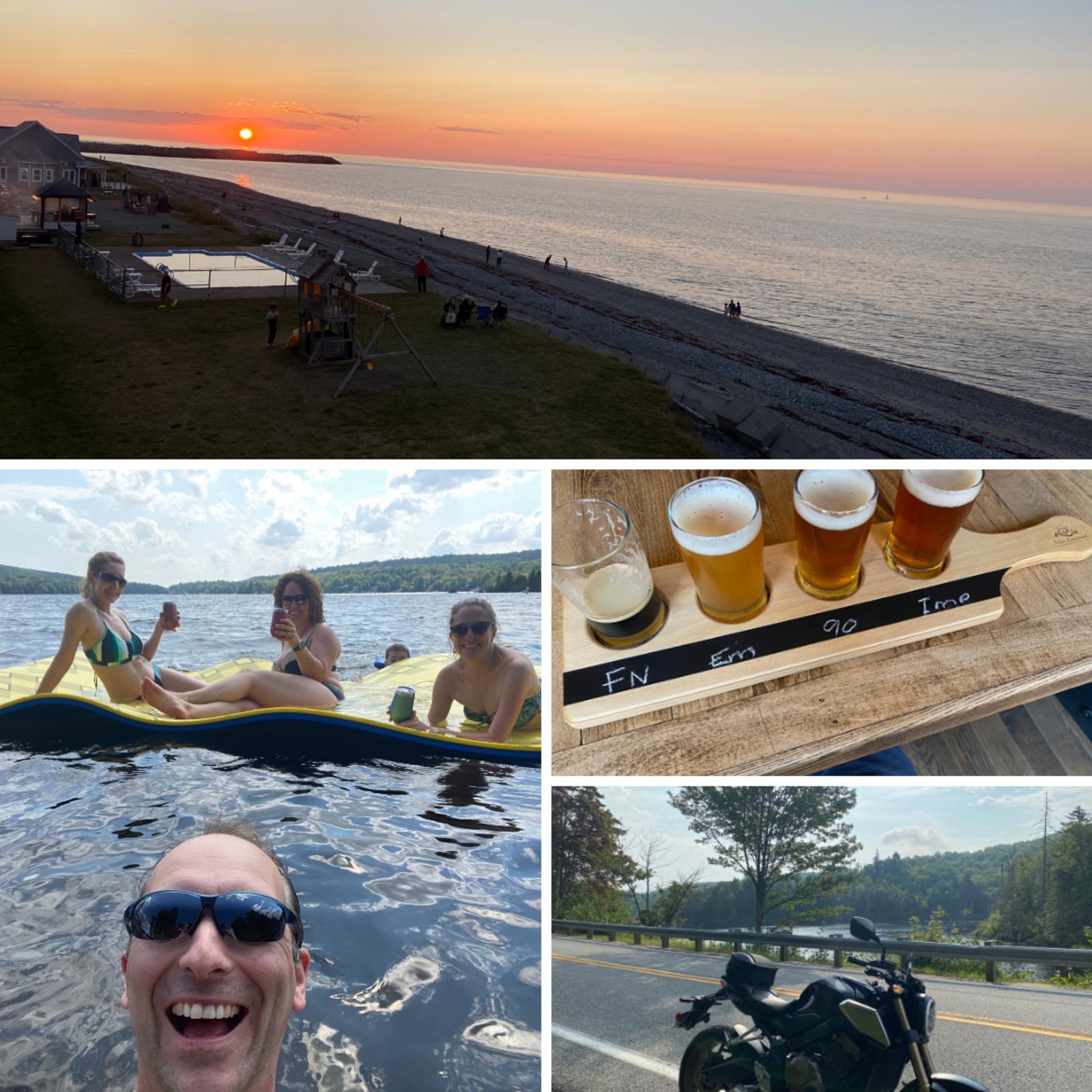 C'est un agréable congé qui se termine, parsemé de moto, de bonnes bières et de bons moments au chalet avec des amis. 😎 #RNP