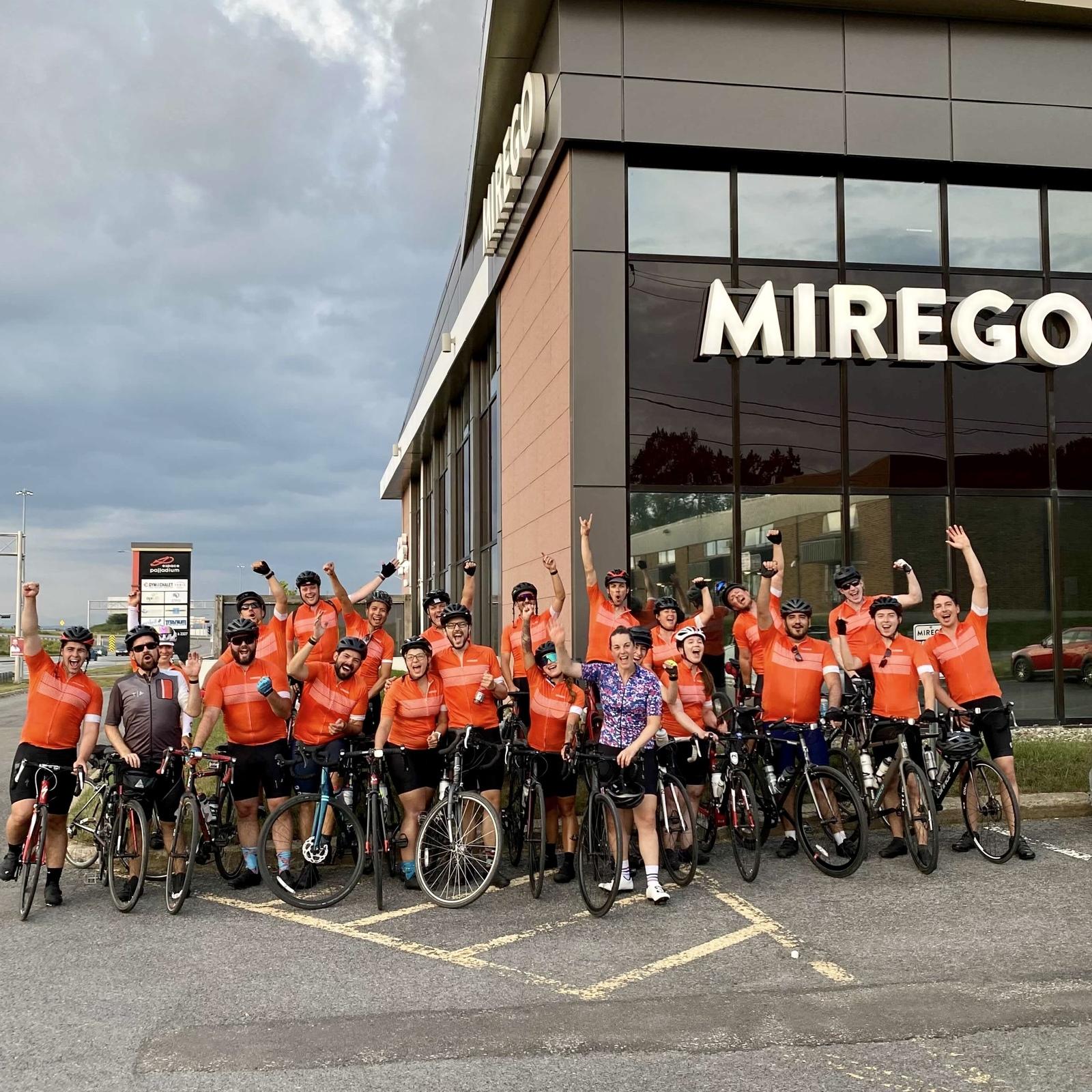 Mission accomplie! MTL-QC à vélo en 3 jours! 🚴♀️🚴🏼🚴🏽♀️🚴🏼🚴♀️
