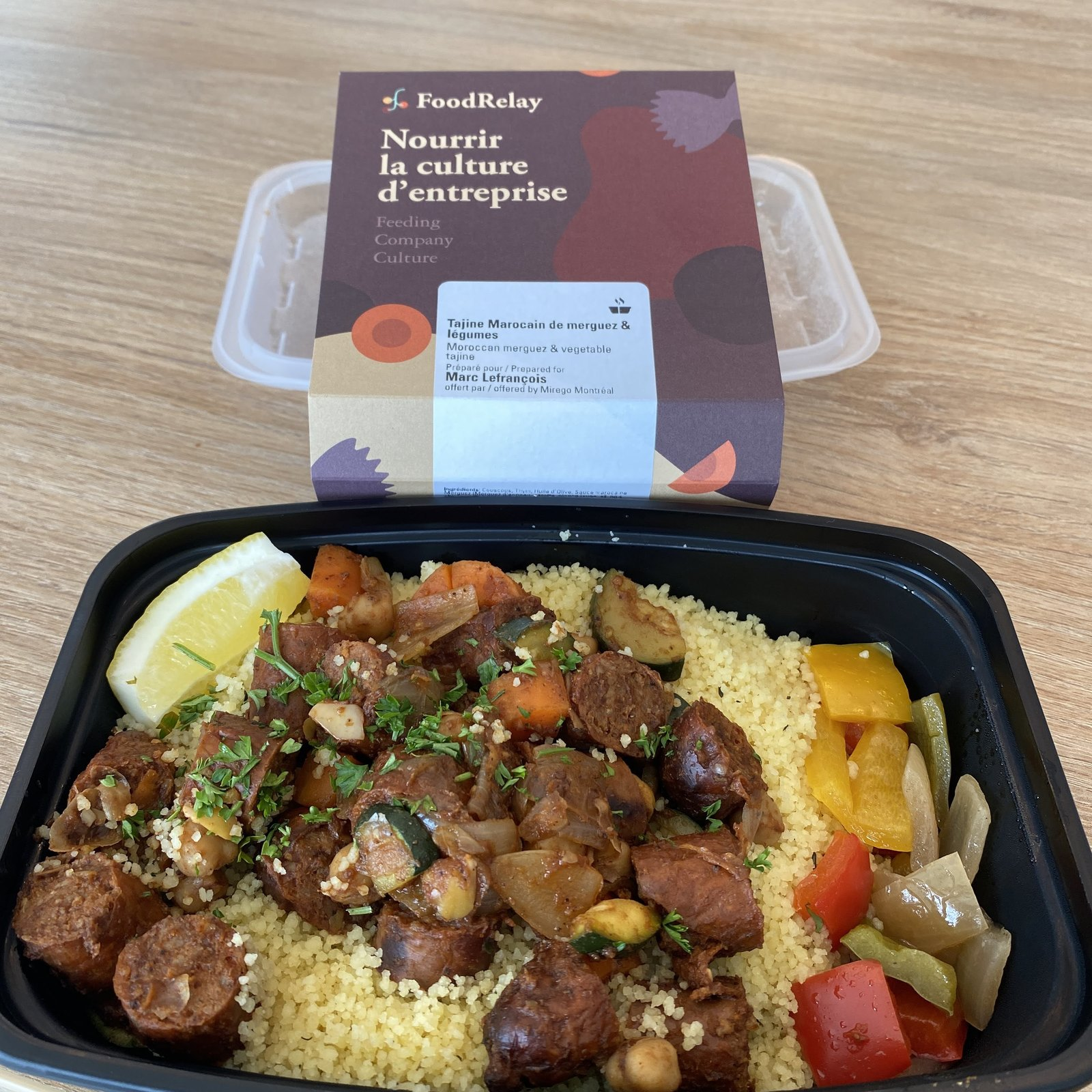 Retrouver les lunchs au bureau (et mes collègues aussi bien sûr 😍)