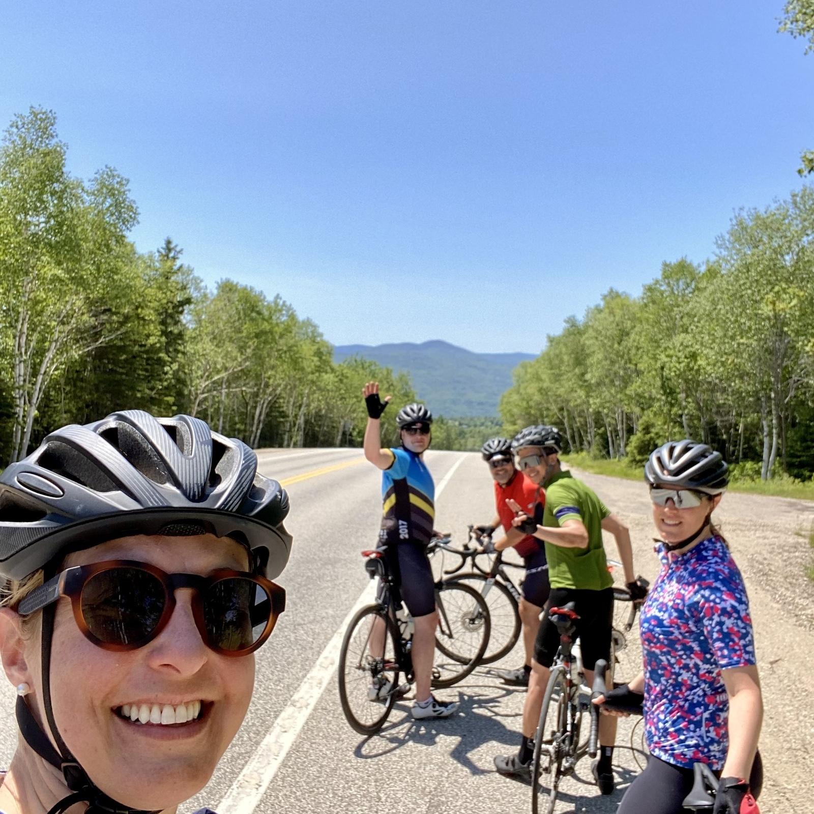 Le Mireteam au camp d'entrainement cycliste du Germain Charlevoix! 🚴🏻♀️🚴🏼🚴♂️🚴♀️🚴🏻♂️